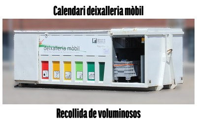 Calendari deixalleria